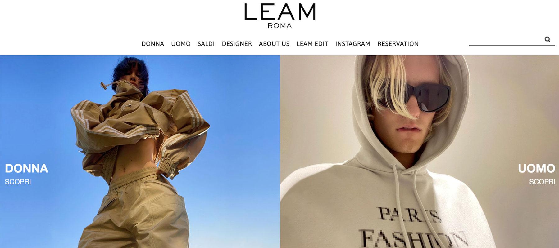 Leam Luxury Shopping
